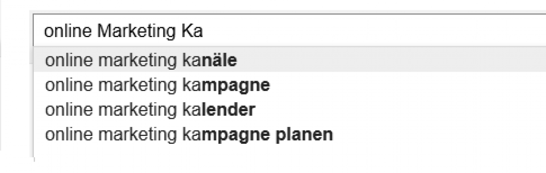 Online Marketing Kanäle – Top 5