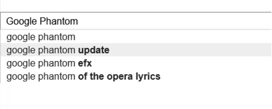 Phantom Update Google
